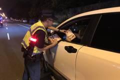 酒駕新制加重罰 中市6次路檢罰鍰破千萬