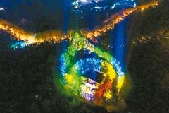 南京浪漫 「美齡宮」亮燈 寶石項鍊夜驚豔