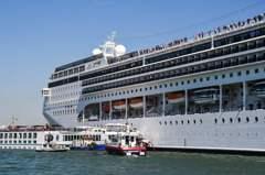 威尼斯護水道 9月起禁大船入港