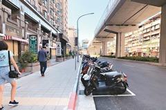 新北進步的象徵 捷運環狀線人行道優化