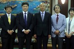 接見日本學者談什麼?韓國瑜:台日兩岸中美貿易戰