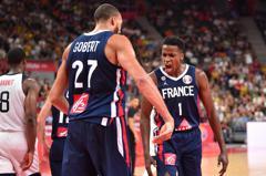 戈貝爾奪21分16籃板 法國擊退美國挺進四強