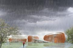 從板橋到新店 台北氣象站落腳安坑 2021年完工