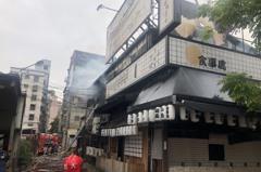 三峽「八條壽司」餐廳大火 起火點在廚房