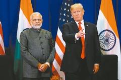 川普拚大選前進休士頓 陪印度總理出席大型集會