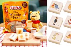 終於等到了!日本賣翻天「小熊維尼生切麻糬」台灣也有了,可愛到捨不得吃