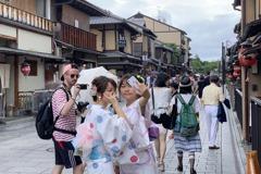 日本京都祇園私有道路禁拍照 違者罰1萬日圓