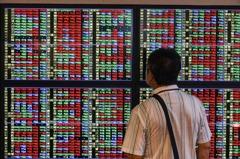 台股連失兩關卡收跌127.35點 三大法人賣超122.42億元