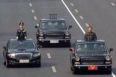 中共閱兵車兩張神秘車牌 藏重大政治密碼