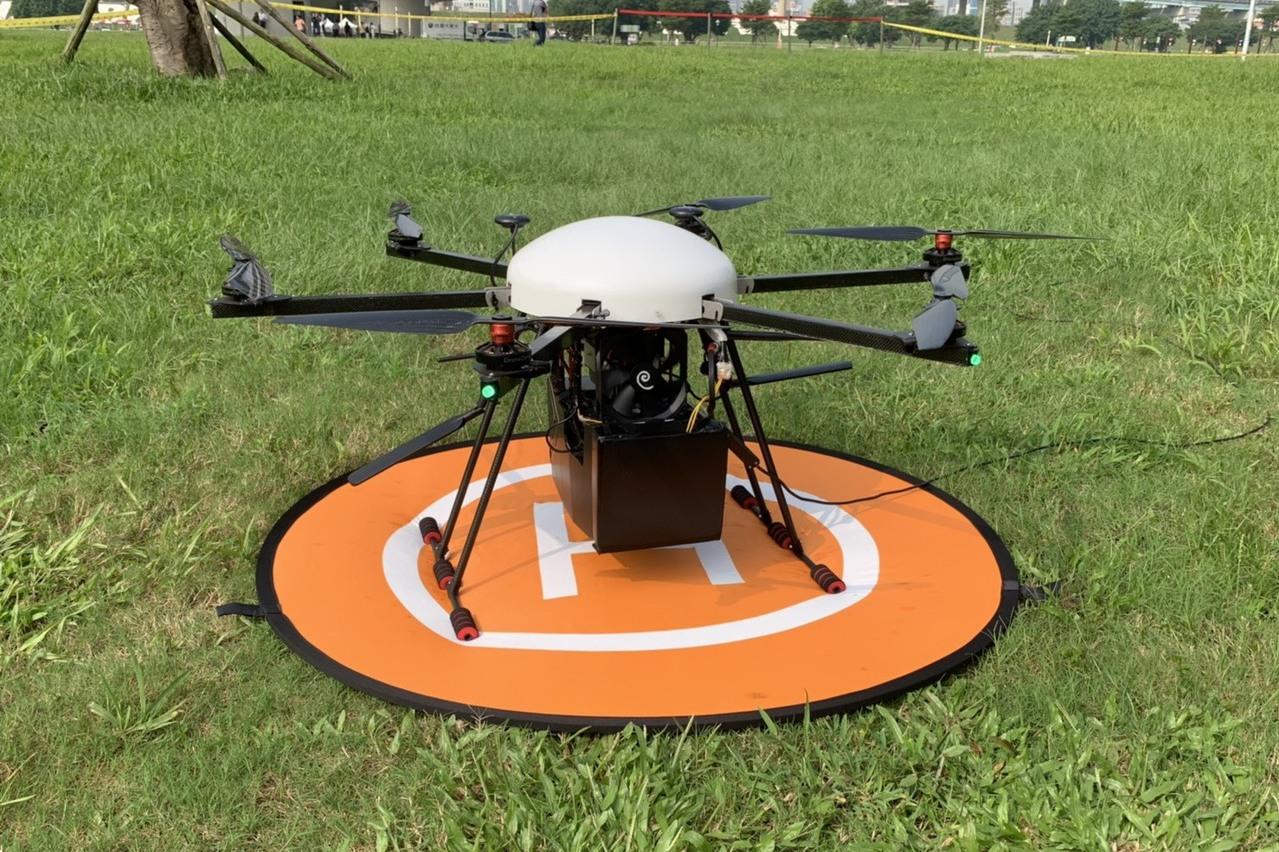 抓寶蒐證不卡!工研院與警方打造無人機行動專網中心