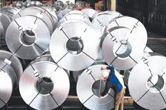 陸五鋼品輸台 不課反傾銷稅