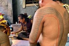 傳統紋身失傳近百年 排灣族青年重現文化刺上身