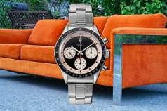她花700元買二手沙發 意外賺到700萬罕見名錶