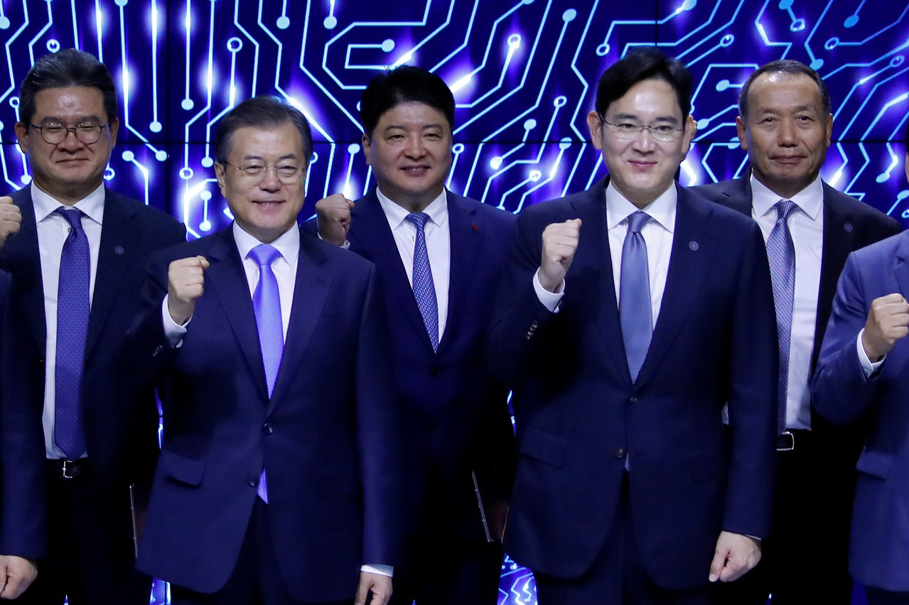 文在寅再三感謝這家企業 帶動韓國經濟發展