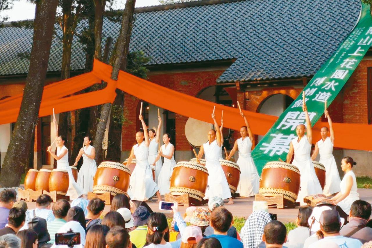 台南水道博物館開幕 4萬人擠爆
