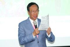 國民黨:尊重郭台銘幫站台 反對者非真韓粉