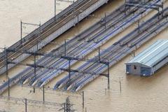 哈吉貝死亡人數攀升至18人 北陸新幹線泡水3分之1恐報廢