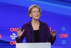 民主黨初選辯論 華倫聲勢壯成對手攻擊焦點