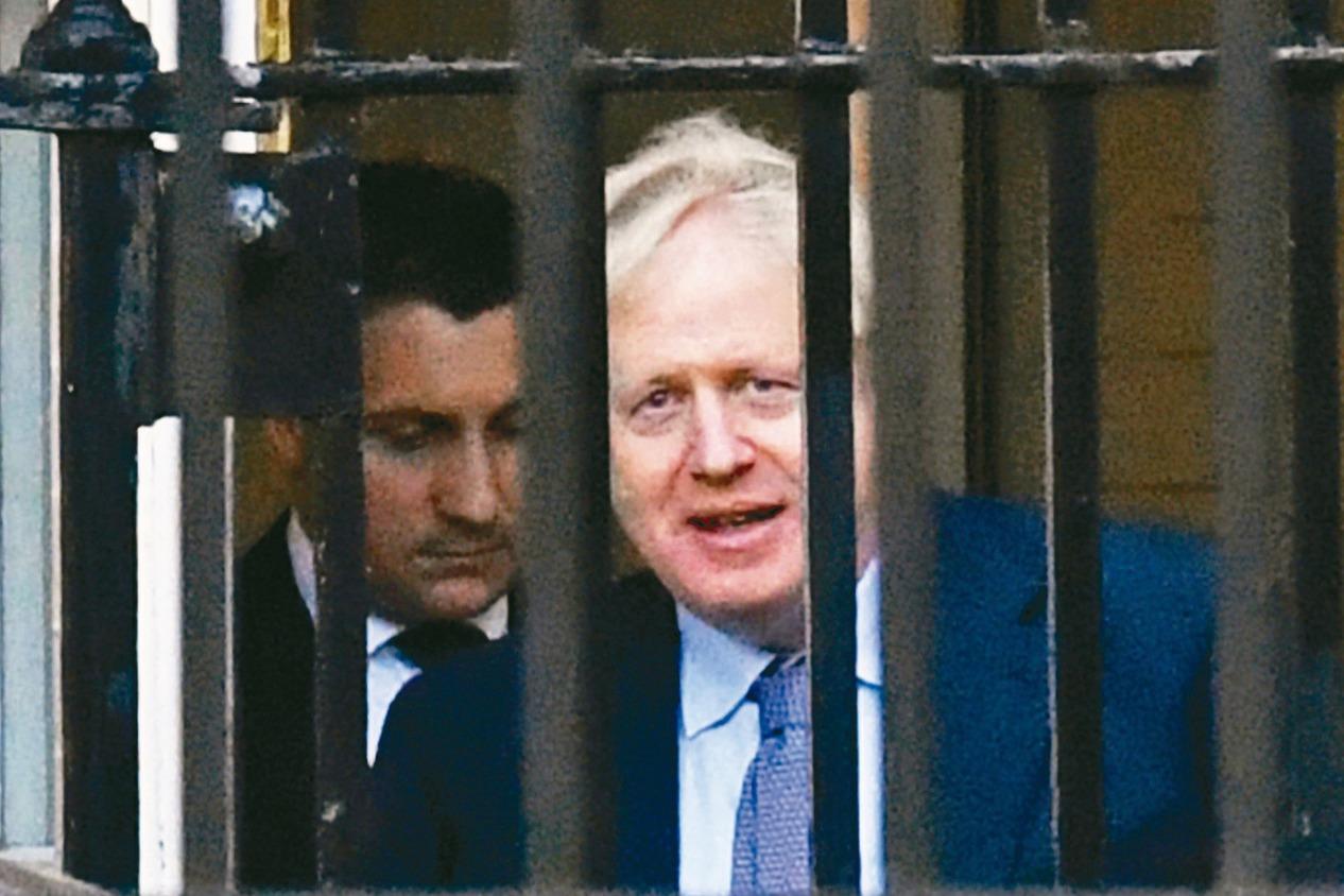 英國會表決前夕 強生忙為新脫歐協議拉票