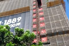 高雄工地工安意外 男從32樓墜落遺體掛17樓鷹架