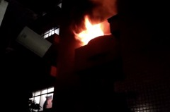 桃園深夜惡火釀1死7傷 8月大男嬰嗆傷送醫