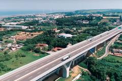 影/齊柏林影像結合AI無人機 空拍台61線西濱絕美風景