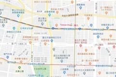 同志遊行將開始 Google map現彩虹