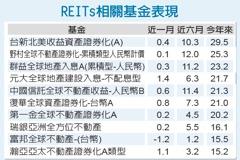 REITs收益穩定 市場青睞