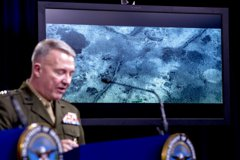 美公布獵殺IS首腦影像 現地遭夷平