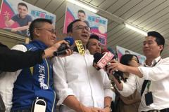 韓吳朱周六同台 朱立倫接韓國瑜競選主委受注目