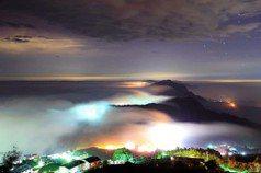 絕美七彩琉璃光宛若仙境 流動雲霧搭配慢速攝影