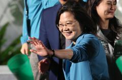 把主權牢牢握在手上 蔡總統籲年輕人2020守住台灣