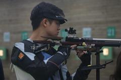 射擊亞錦賽/呂紹全10M空氣步槍 射下東奧門票