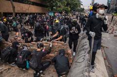 澳洲呼籲港警 依比例原則處置反政府抗議
