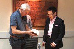 外貿協會董事長黃志芳 拜會以色列比爾·蓋茲