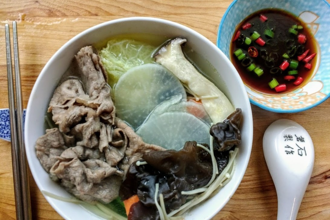 食譜/蔬菜牛肉鍋