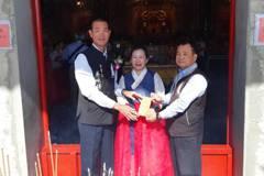韓女在台嚴重車禍 奇蹟康復賣房募款建媽祖廟
