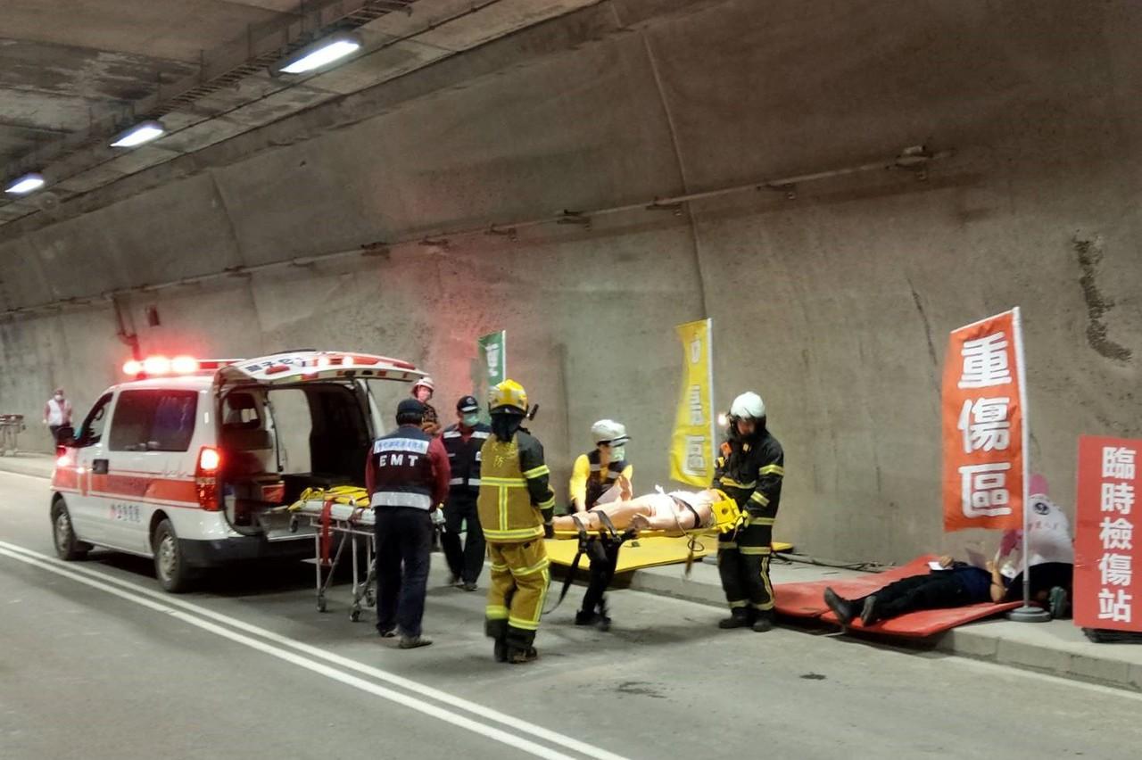 台9線草埔隧道通車在即 防救災演練上緊發條