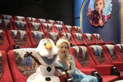 秀泰打造全台唯一冰雪奇緣主題影廳 今日亮相