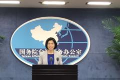 大陸國台辦新任發言人 朱鳳蓮今首度亮相