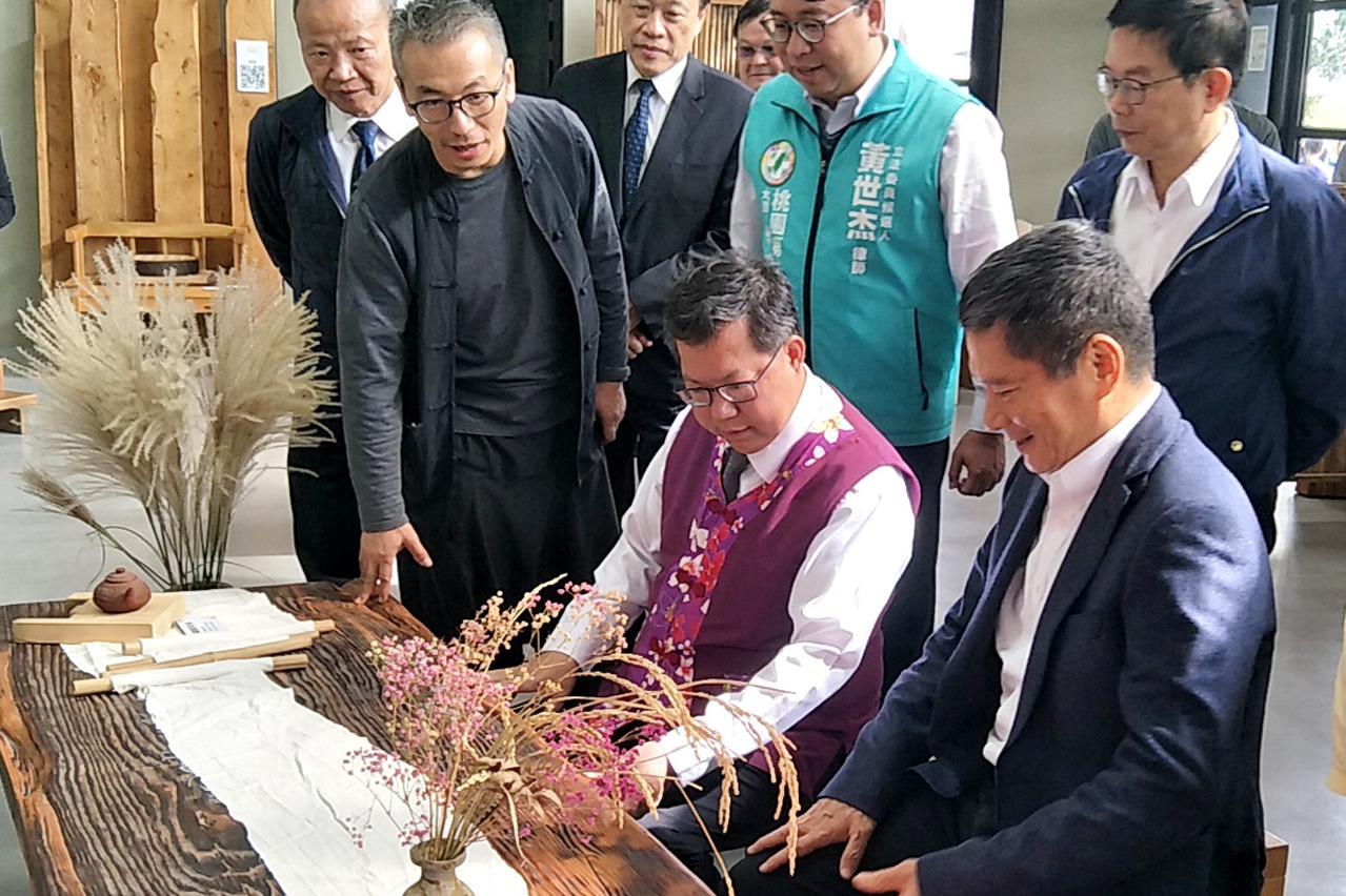 客家崙坪地景園區啟用 日本受信所改造客家工藝館場