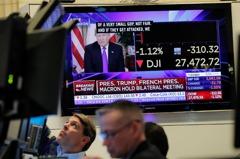 貿易協議恐延至美大選後…道瓊下挫280點 連三日收跌