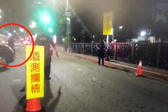 影/酒駕硬闖還怪「警方要我命」 北市警開記者會打臉