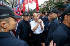 韓國瑜:這場大選是乞丐與王子的戰爭