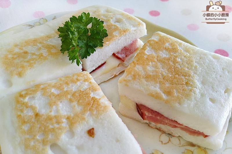 【食譜】起司火腿鱈寶三明治。來自日本的「鱈寶」