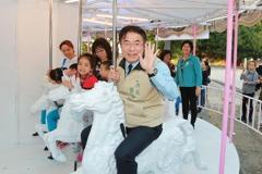 台南耶誕跨年市集 蕭壟文化園區化身兒童樂園