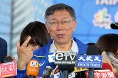 台北市長寶座穩了鬆口氣? 柯文哲這樣說......