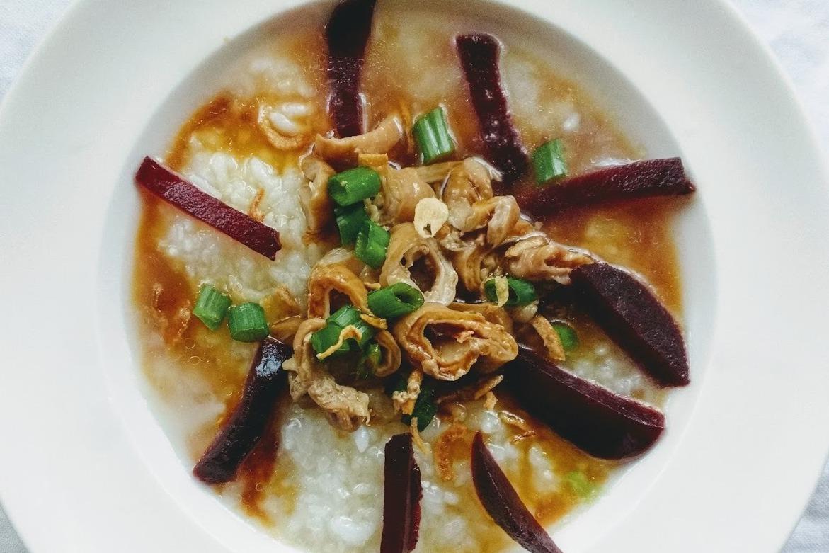 食譜/大腸甜根菜粥