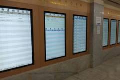 法拍資訊透明化 新北院增設7面多媒體電子液晶顯示器
