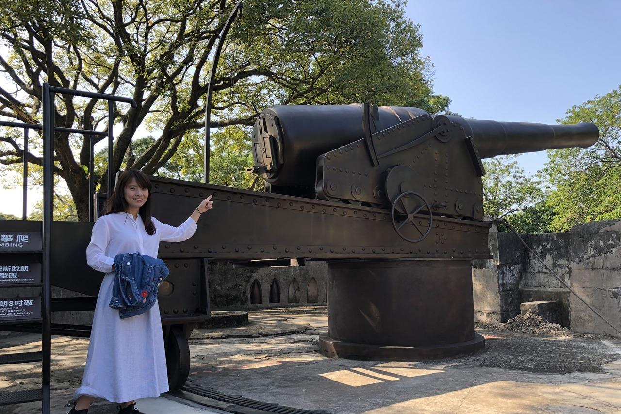 周末逍遙遊/淡水訪古蹟 玩電動看復刻大砲